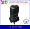 Small size mini ftth optical fiber Dome Splice Closure 12 cores