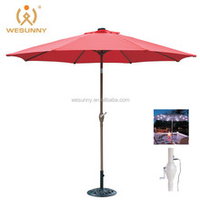 bright colored leisure garden bench with umbrella factory china