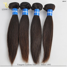 Good Feedback Wholesale Price Top Quality Double Weft straight combodian remy virgin hair weave