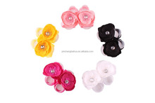 2015 new style peach blossom Multicolor optional baby foot flower