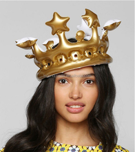 promotional inflatable crown/party toys
