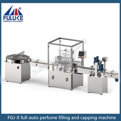 FLK new design perfume filling and capping machine