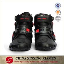 Professional pro biker motorcycle boots men motorbiker boots Size 40-45 black motorcycles moto racing shoes