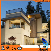 Quick Building and Easy Installation Modern Style Light Steel Frame Prefab Houses