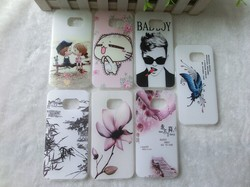 color printing cheap mobile phone cases for samsung s6