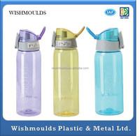 Customized FDA High quality leak-proof clear plastic, casual sports travel mug /tea cup plastic injection molding