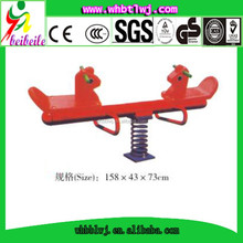 Animal Shape High Quality Hot Selling Products Plastic Playground Seesaw