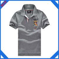 2015 custom polo shirt design 100% cotton embroidery fashion mens polo shirt