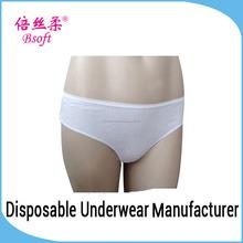 desechables de algodón sin fisuras de las mujeres maduras en ropa interior