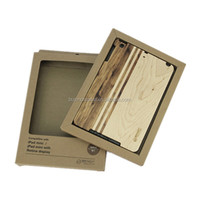 Wholesale Factory Price PC+Wood Tablet Protective Case For iPad Mini2