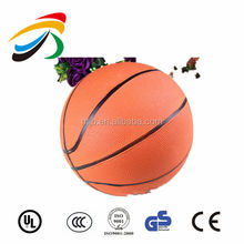 Advanced rubber basketball