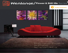 decoration wall beautiful group flower paintings group flower paintings