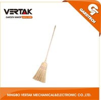 One-Stop Solution Service good quality wooden handle garden broom corn