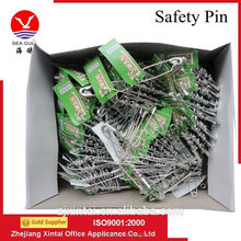 Wholesale zinc plated fancy shaped safety pin with OEM price