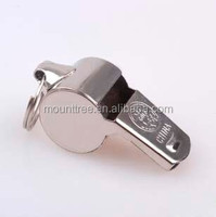 Low Price Logo Printing Professional Stainless Steel Whistle
