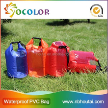 Fashion Soft and light weight waterproof nylon PVC dry bag for floating