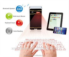 New Product for Wireless Virtual Laser Keyboard With High Quality fpr tablet pc mobilephone iPhone6