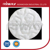 Flower Embossed 100% Pure Cosmetic Cotton Pads