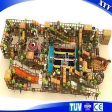 Large scale wholesale adventure zone kids indoor tunnel playground