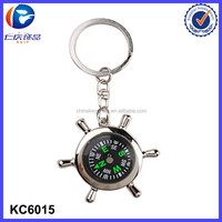 hot selling stock key fob compass key holder for promotion gift
