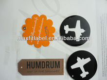 clothing hang tag, paper tag for jeans