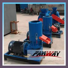 manufacturer flat die wood pellet molding machine/pelletizer