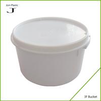Small plastic fishing buckets with lids plastic water tank
