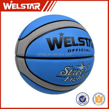 durable indoor and outdoor 12 panels high school 7# pu material basketball