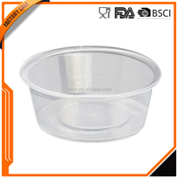 Plastic Food grade pp bpa free takeaway storage containers with lids
