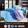 Abstract color matching design pigment printed bedding set 2011 modern decorations