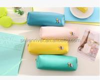 2015 newest Quality Pu Zipper Pen Bag