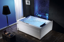 2 person acrylic whirlpool spa bathtub indoor massage bathtub