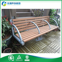 OEM Hight Quality Fire-Proof Curved Park Bench