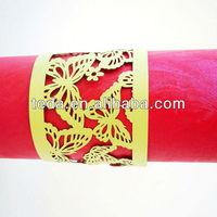 Paper/Felt/Cloth Napkin Rings for weding