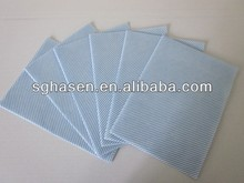 All purpose non-woven cleaning cloths/chemical bond nonwoven cleaning cloth