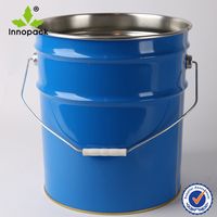 5 Gallon metal tin pail for chemical use/paint pail