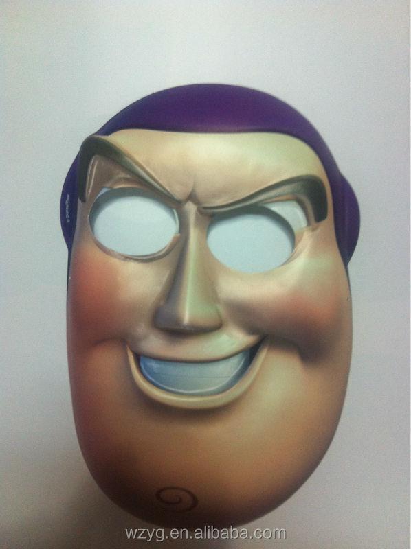 2014 customized PVC horrible plastic Halloween mask