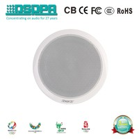 ZABKZ WA124 Hot Sale Economical Passive Indoor 5w PA System Ceiling Speaker