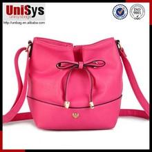 Pink Designer Lady Leather big size shoulder bag PU lady sling bag
