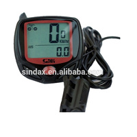 LCD bicycle computer, waterproof Odometer, bicycle speedometer for bicycle accessories