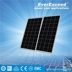 EverExceed 140W Polycrystalline Solar Panel certificated by TUV/VDE/CE/IEC for street light