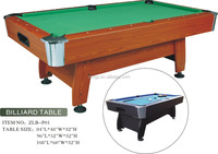Guangzhou new design pool /billiard table for sale 2015