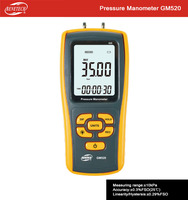 Hot selling Pressure Manometer GM520 with temperature compensation function