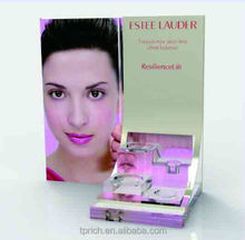 fashion and beauitful skin style for cosmetic display /clear acrylic display