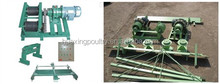 Long using life automatic chicken manure removal machine