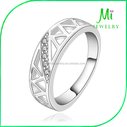 High Quality Flower Ring Gold Plated Rings