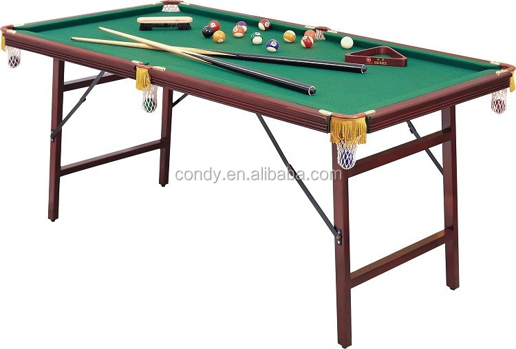 Shender pliage enfants jouant mini billard table de billard tables de snooker - Taille table snooker ...