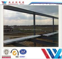 Durable prefab steel building sound insulation steel frame building light steel structure warehouse for sale