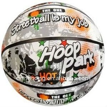 high quality Customized color butyl basketball for practice