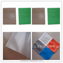 pvc mesh tarpaulins/woven polyester fabric/pvc polyester mesh traps